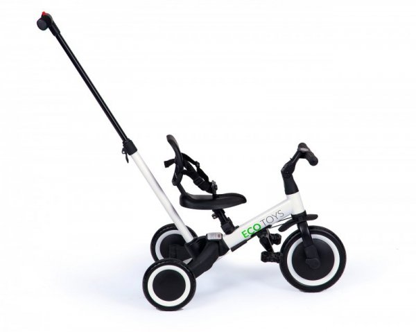 Rowerek biegowy 4w1 trojkołowy spacerówka rower dla dzieci