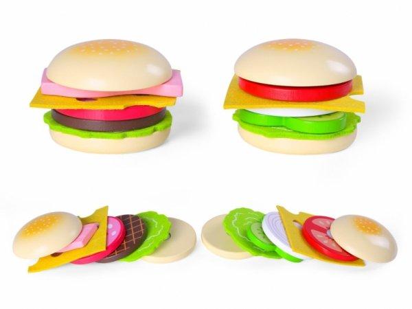 Drewniany hamburger Ecotoys