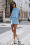 Komplet dresowy Comfort - Błękit - StreetStyle