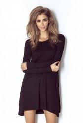 Casualowa sukienka Celine - Czarna - Ivon