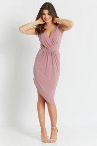 Sukienka Gaja - Brudny Róż - StreetStyle 729