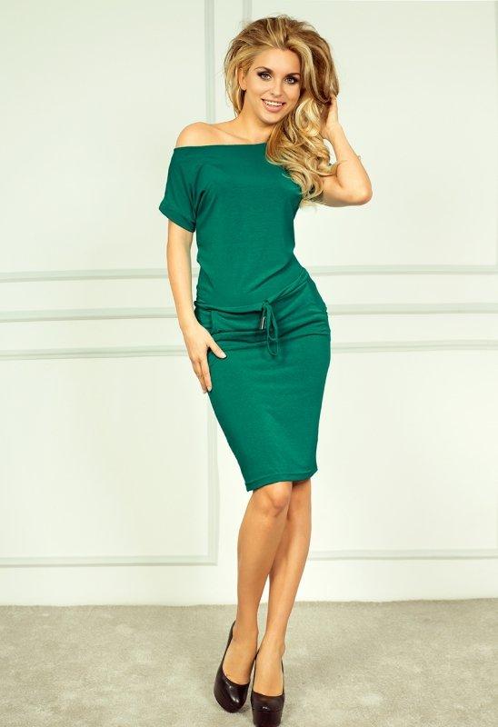 Sukienka sportowa - kolor Morski - numoco 56-5