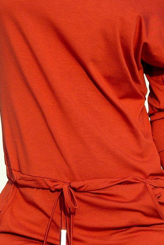 Sukienka sportowa - Miedziana - numoco 13-84