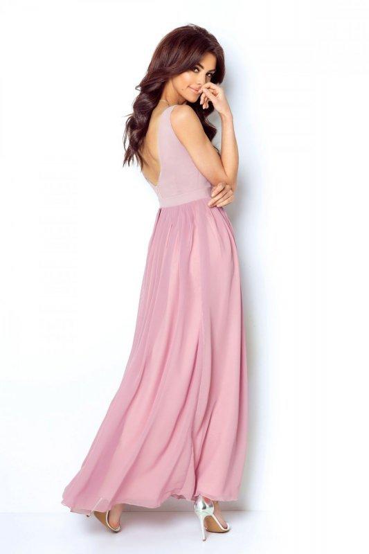 Szyfonowa sukienka maxi Andrea - Ivon