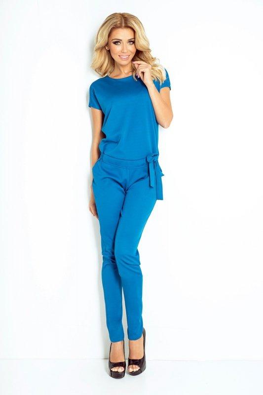 Kombinezon elegancki lacosta - Niebieski Jeans