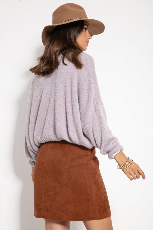 Sweter F1070- Fiolet -2