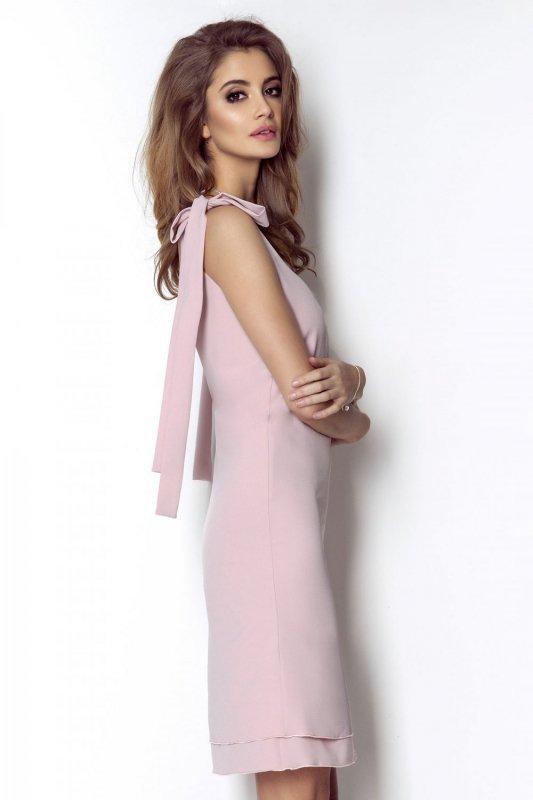Sukienka  Kate - Różowa
