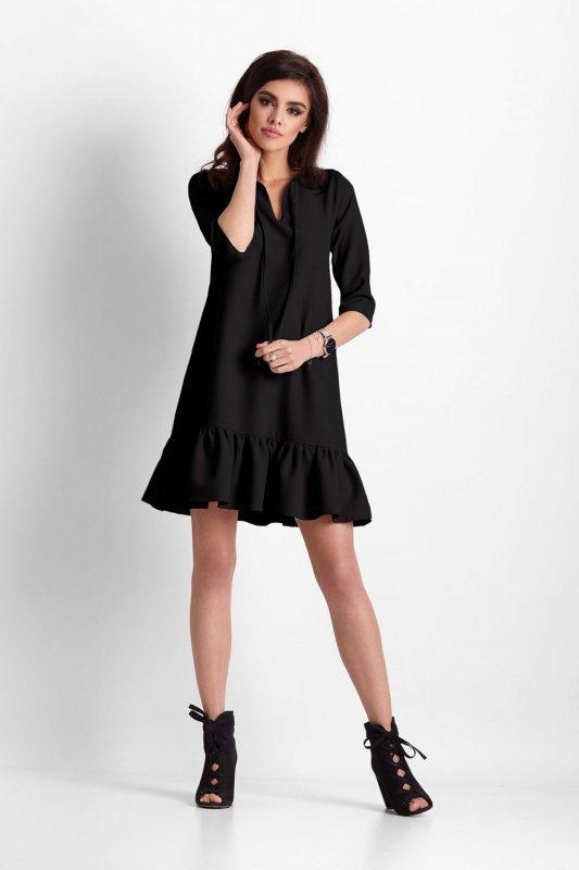 Sukienka Elvira - Czarna - StreetStyle 636