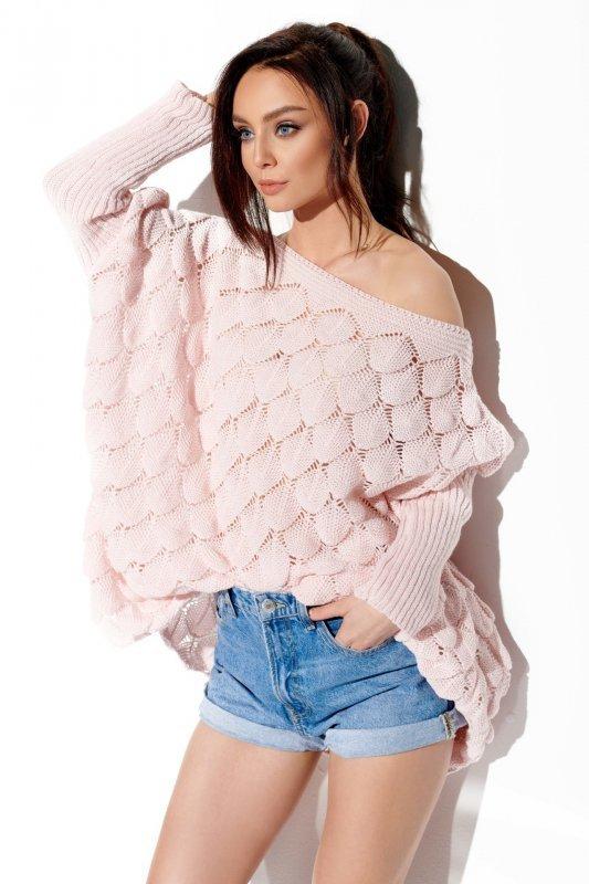 Sweter oversize łuska- StreetStyle  LS284