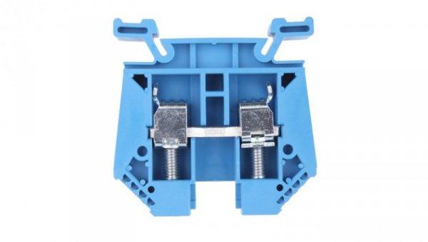 Złączka szynowa 2-przewodowa 16/25mm2 niebieska EURO 43403BL