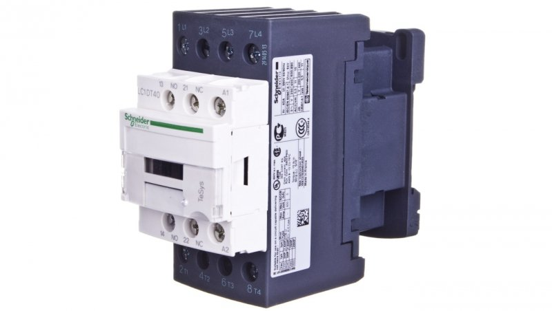 Stycznik mocy 40A AC-1 4P 400V AC 1Z 1R LC1DT40V7