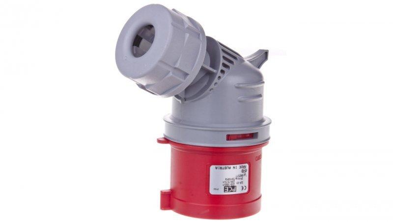 Wtyczka przenośna 32A 5P 400V czerwona IP44 8025-6TT