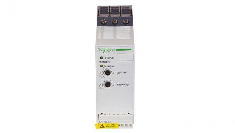 Schneider Softstart 1/3-fazowy 110-480V 25A 2,2/3-5,5/7,5-11kW 230/230/400V Altistart ATS01N125FT