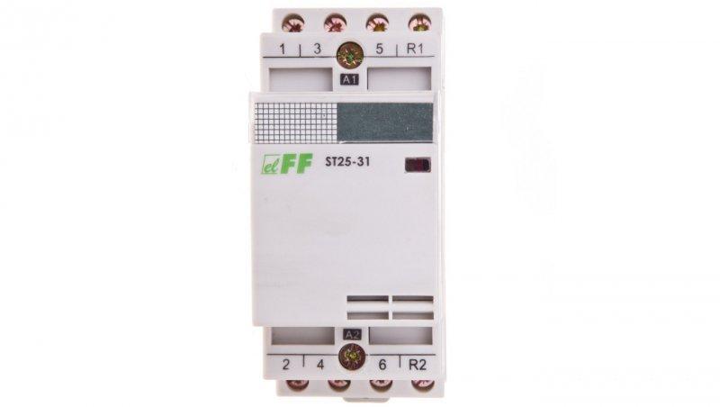 Stycznik modułowy 25A 3Z 1R 230V AC ST25-31