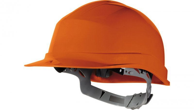 Hełm budowlany z polietylenu pomarańczowy regulowany 440 VAC ZIRC1OR