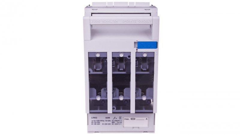 HAGER Rozłącznik bezpiecznikowy 3P 160A NH00 LT052