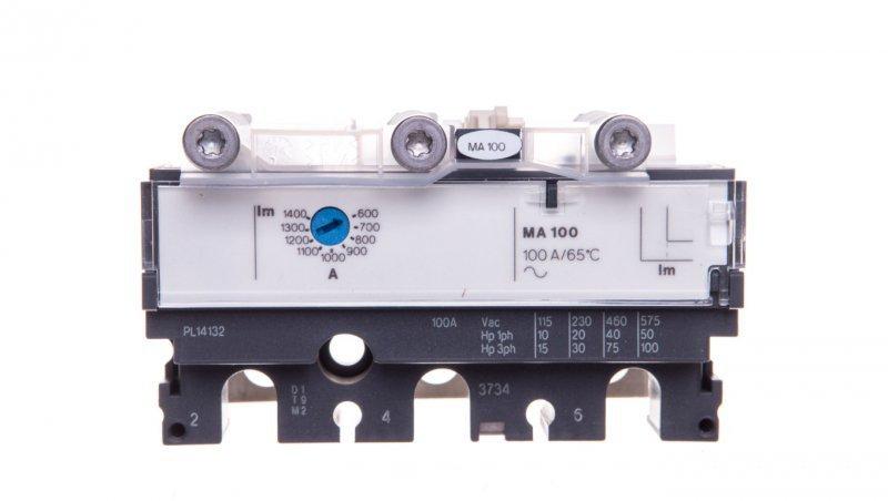 Blok wyzwalacza 3P 100A 100-250A NSX100-250 3P3D MA100 LV429120