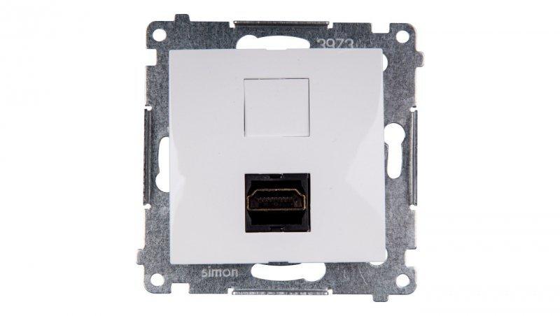 Simon 54 Gniazdo HDMI białe DGHDMI.01/11