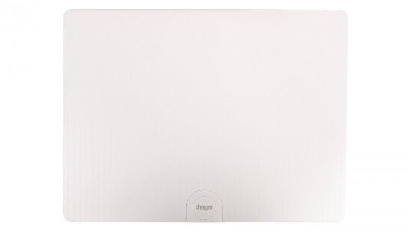 HAGER Rozdzielnica modułowa 2x12 natynkowa IP40 Golf (drzwi pełne) VS212PD
