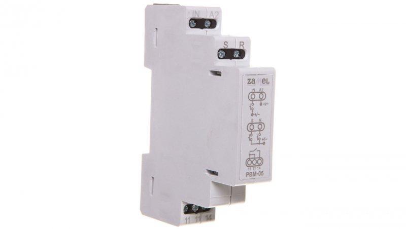 Przekaźnik bistabilny beznapięciowy PBM-05/12-24V EXT10000069