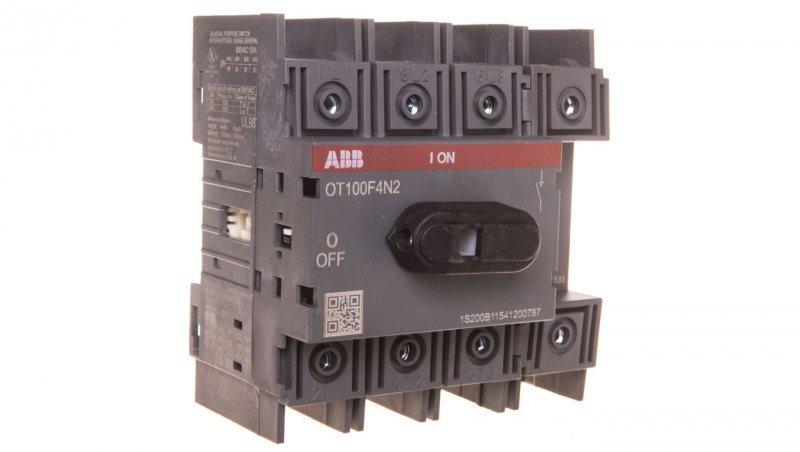 Rozłącznik izolacyjny 4P 100A bez napędu OT100F4N2 1SCA105018R1001