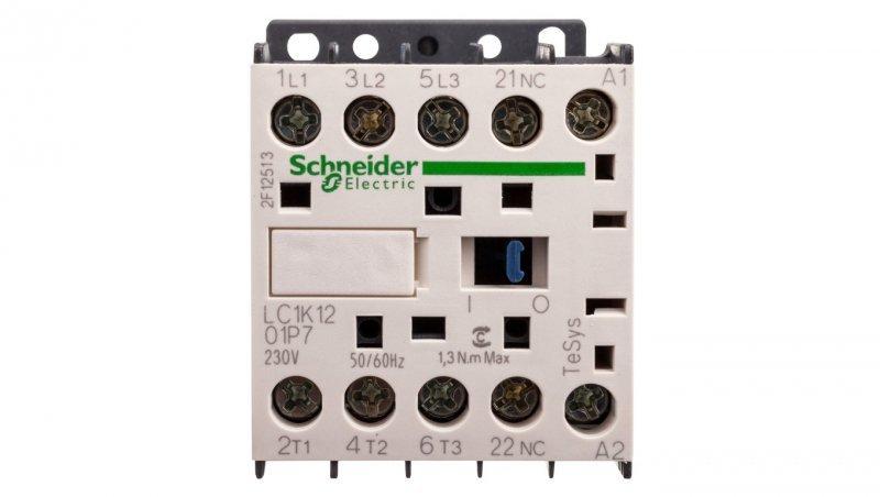 Stycznik mocy 12A 3P 230V AC 0Z 1R LC1K1201P7