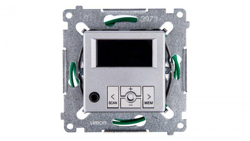 Simon 54 Radio cyfrowe z wyświetlaczem srebrny mat D75252.01/43