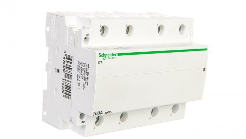 Stycznik modułowy 100A 4Z 0R 230V AC iCT A9C20884