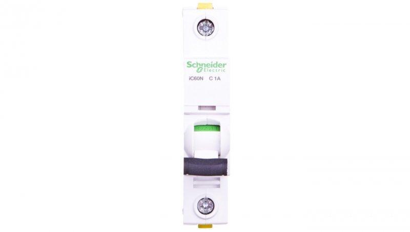 Wyłącznik nadprądowy 1P C 1A 6kA AC iC60N-C1 A9F04101