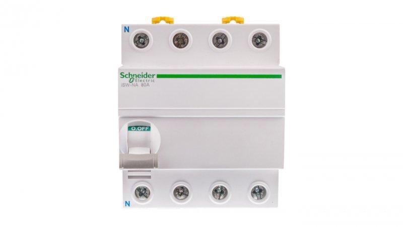 Rozłącznik modułowy 80A 4P iSW-NA (możliwy wyzwalacz) A9S70780