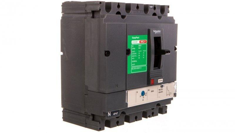 Wyłącznik mocy 25A 4P 36kA EasyPact CVS100 TM25D LV510351