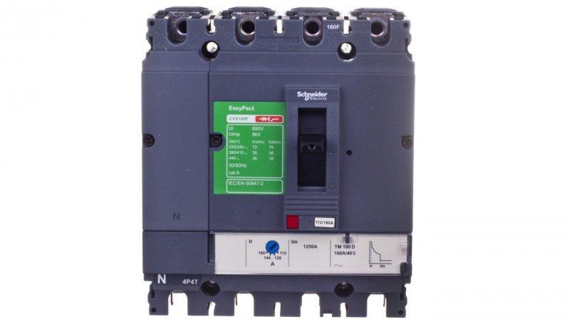 Wyłącznik mocy 160A 4P 36kA EasyPact CVS160 TM160D LV516353
