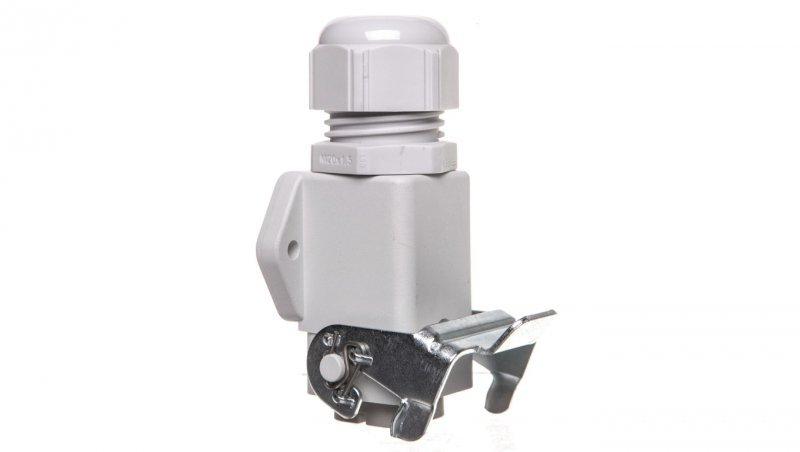 Zestaw kompletny 4+PE żeński /obudowa gniazda pulpitowa + wkład/ EPIC KIT H-A 4 BS AGS M20 75009621