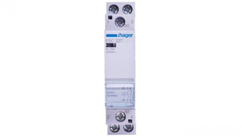 Stycznik modułowy 25A 1Z 1R 230V AC ESC227
