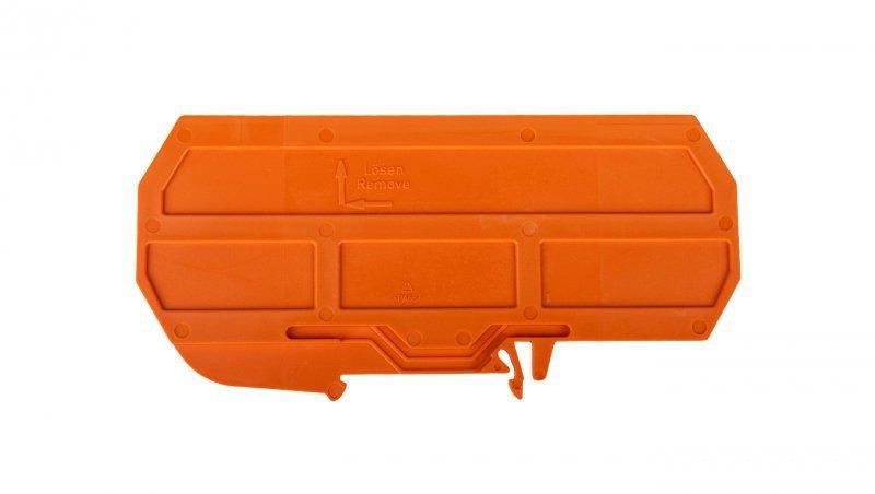 Ścianka separująca EExe/EExi pomarańczowa szerokość 120mm 209-191 /25szt./