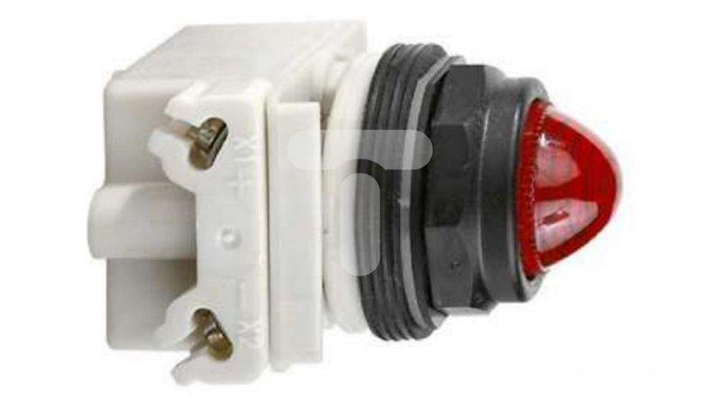 Lampka sygnalizacyjna 30mm BA9s czerwona 12V AC/DC IP66 9001SKP32R9