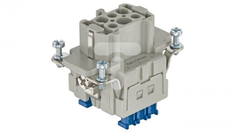 Złącze (wkład) (0,14-2,5 mm2) 6+PE żeńskie 500V 16A Han ES Press 09330062748