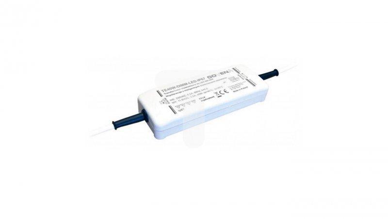 Transformator ściemnialny LED 0-40W 11,5V TE40W-DIMM-LED-IP64