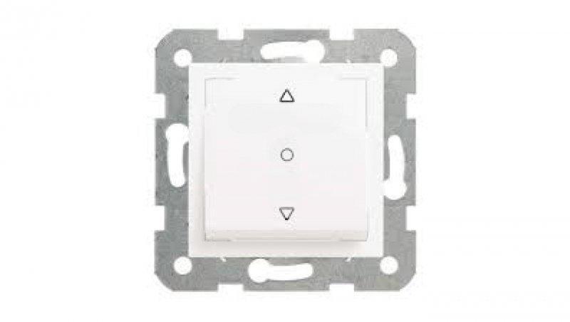 KARRE Łącznik żaluzjowy 1-przyciskowy biały 90967072