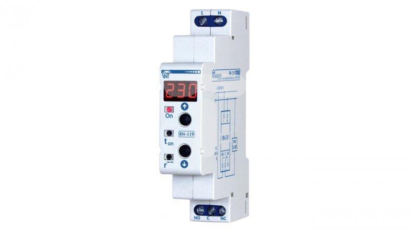Przekaźnik nadzorczy napięcia 1-fazowy 230V 5-900s RN-119