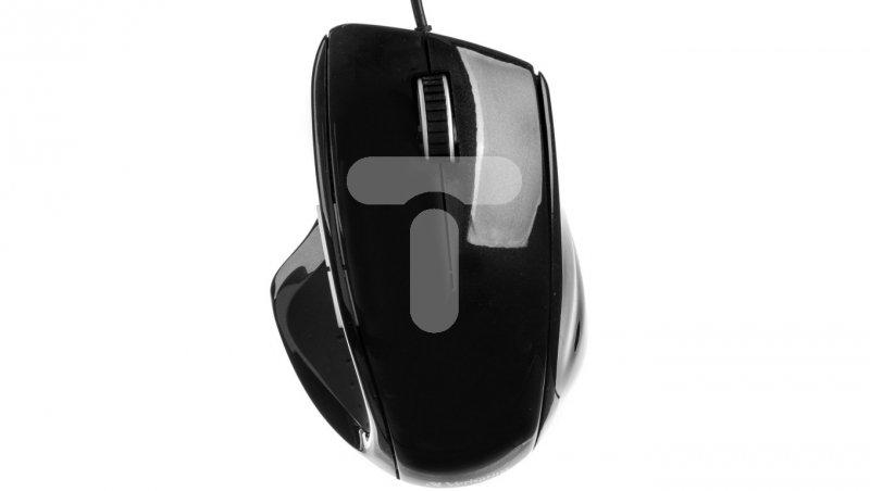 Mysz optyczna VERBATIM GO ERGO czarna USB