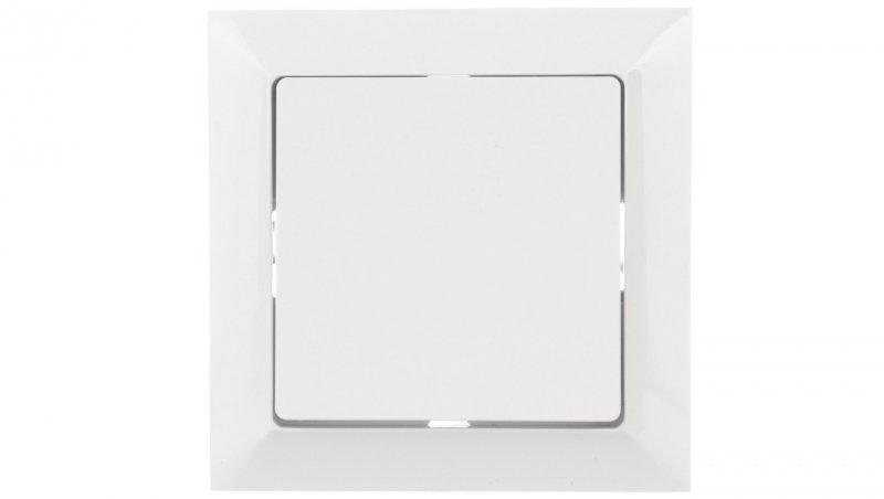 PREMIUM Przycisk zwierny /światło/ z podświetleniem biały WP-6 Pr/S