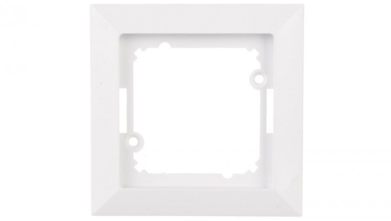 OPAL Ramka pojedyncza biała Ra-1Op