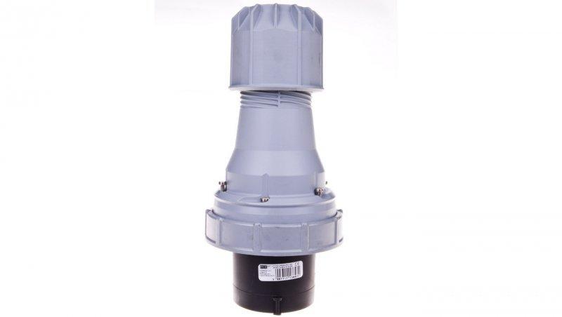 Wtyczka przenośna 125A 5P 500V czarna IP67 POWER TWIST 045-7