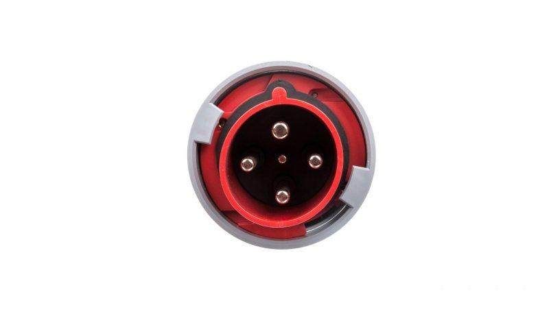 Wtyczka przenośna 63A 4P 400V czerwona IP67 POWER TWIST 034-6