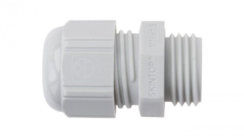 Dławnica kablowa poliamidowa M16 IP68 SKINTOP ST-M 16x1,5 jasnoszara 53111410