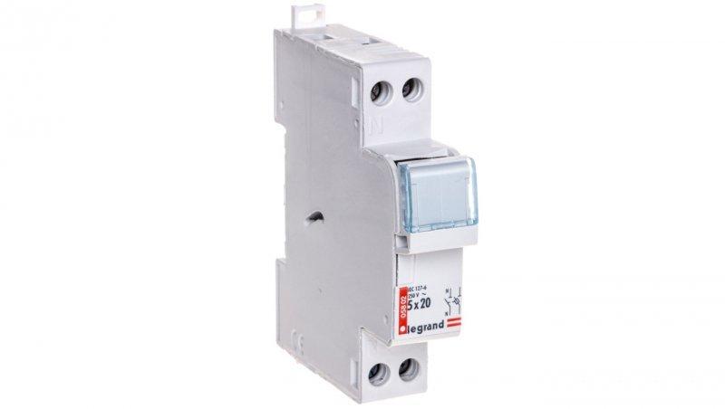 Legrand Rozłącznik bezpiecznikowy cylindryczny 1P+N 5x20mm RB302 005802