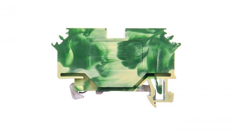 Złączka 2-przewodowa 6mm2 żółto-zielona 282-607 /50szt./