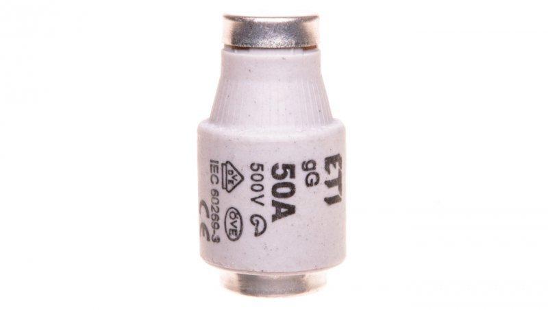 Wkładka bezpiecznikowa 50A DIII gG / BiWtz 500V E33 002313402