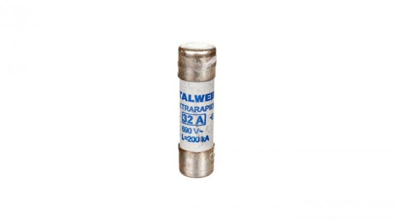Wkładka bezpiecznikowa cylindryczna 14x51mm 32A aR 690V CH14UQ 002635015